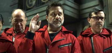 Arturito in Haus des Geldes 4. Staffel