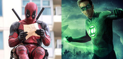 Ryan Reynolds in Deadpool & Green Lantern