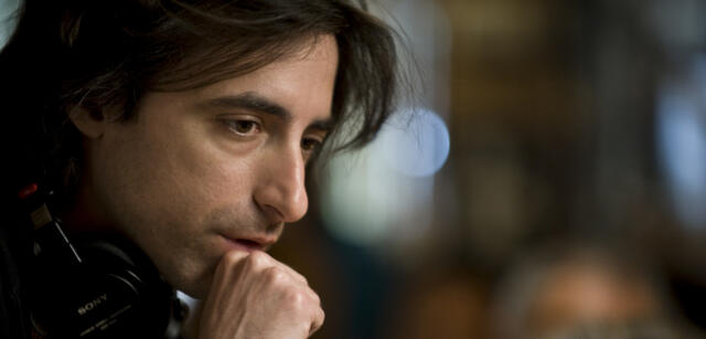 Noah Baumbach am Set von Greenberg