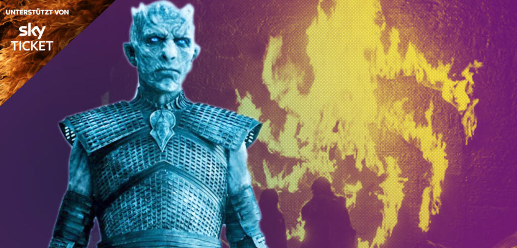 Der Night King in Game of Thrones