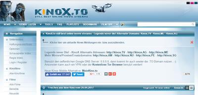 Filme über Kinox.to zu streamen ist laut EuGH-Urteil illegal