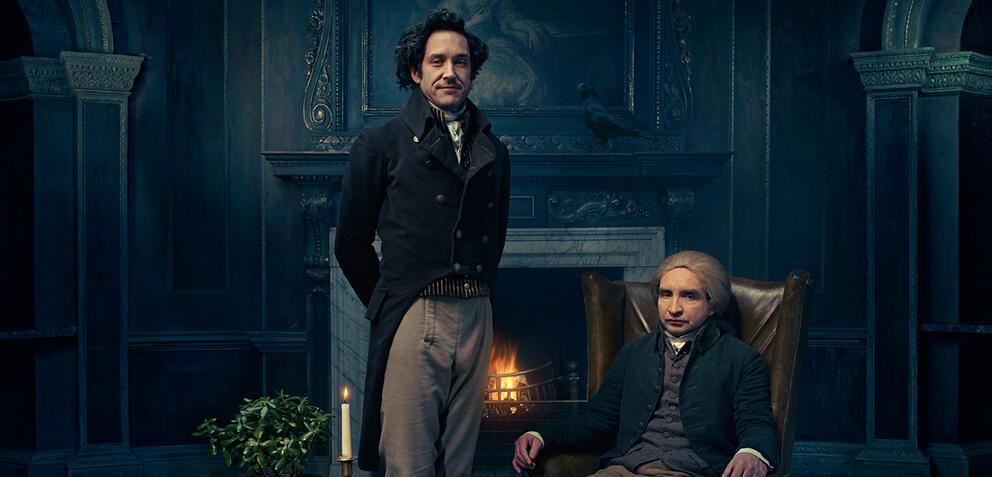 Bertie Carvel und Eddie Marsan in Jonathan Strange & Mr Norrell