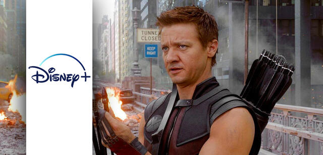 Hawkeye in Marvel's The Avengers