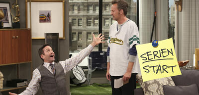 Thomas Lennon und Matthew Perry in Odd Couple