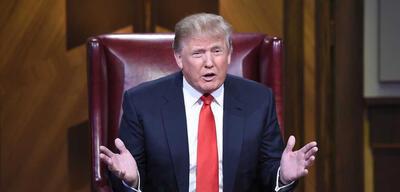 Donald Trump in The Apprentice