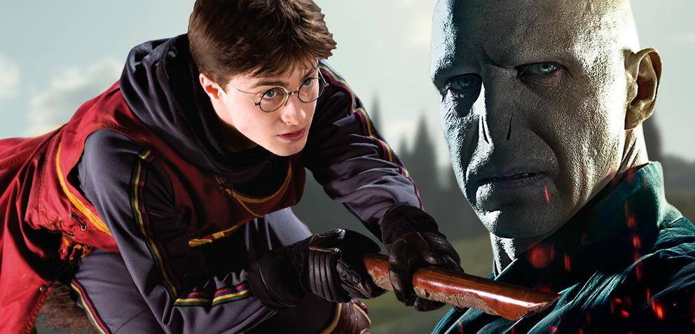 Harry Potter und Lord Voldemort