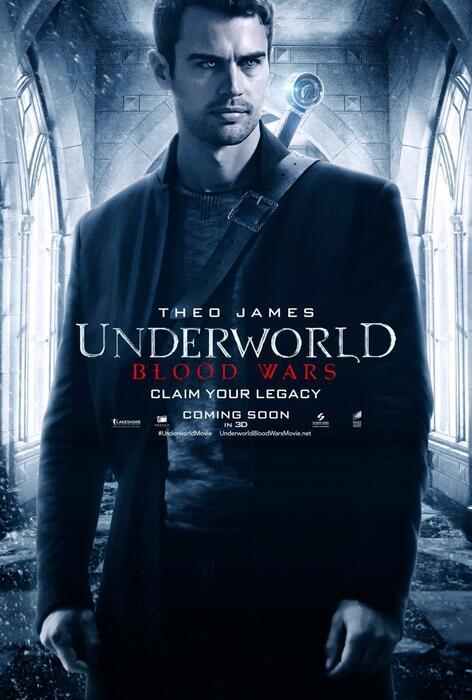 Underworld 5: Blood Wars mit Theo James