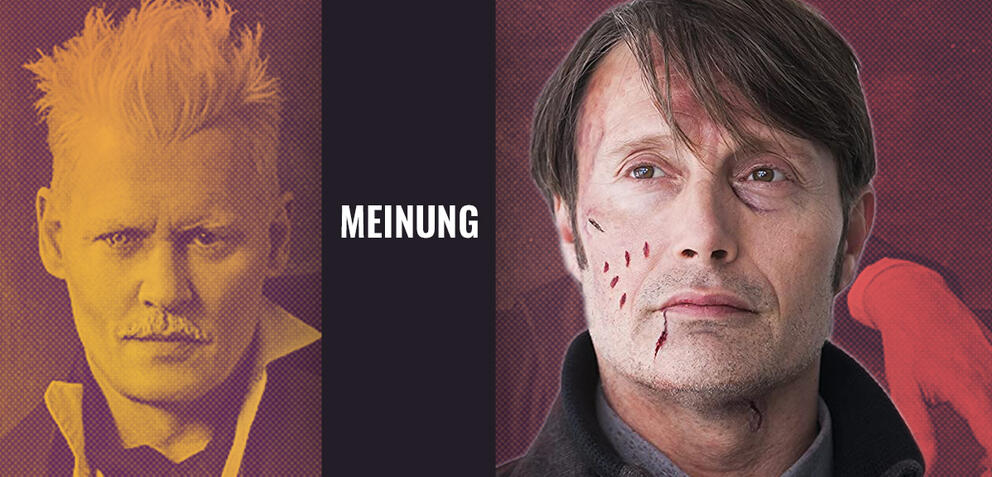 Mads Mikkelsen & Johnny Depp