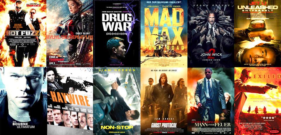 Action Filme Liste