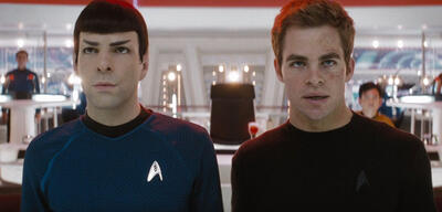 Star Trek mit Chris Pine und Zachary Quinto