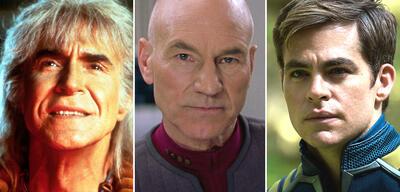 Khan, Picard und Kirk