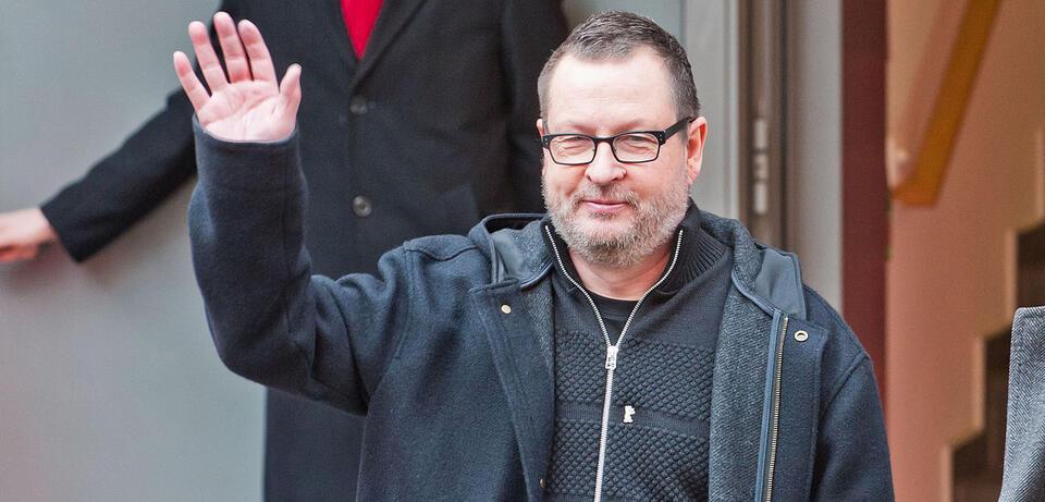 Lars von Trier auf der Berlinale 2014