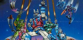Das Originalposter zu Transformers: The Movie