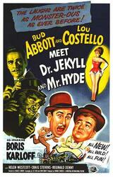 Abbott and Costello meet Dr. Jekyll and Mr. Hyde - Poster