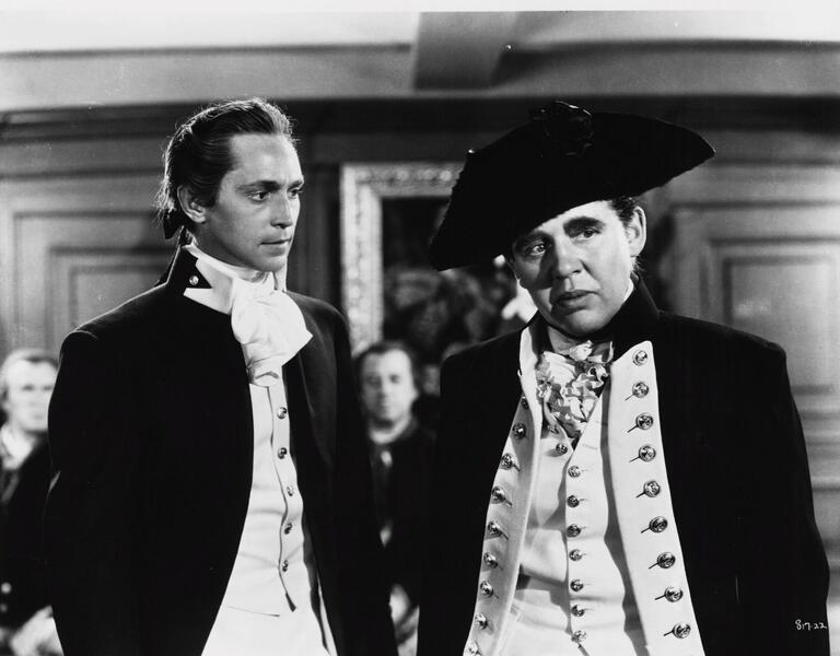 Meuterei auf der Bounty mit Charles Laughton und Clark Gable
