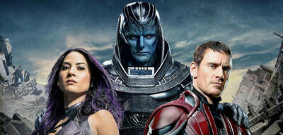 X-Men: Apocalypse - Olivia Munn, Oscar Isaac und Michael Fassbender