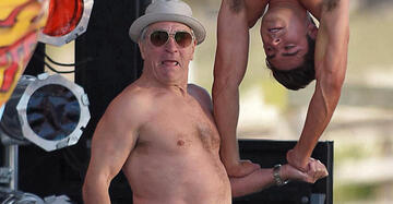 Spring Break Forever, Bitches: Robert De Niro in Dirty Grandpa.