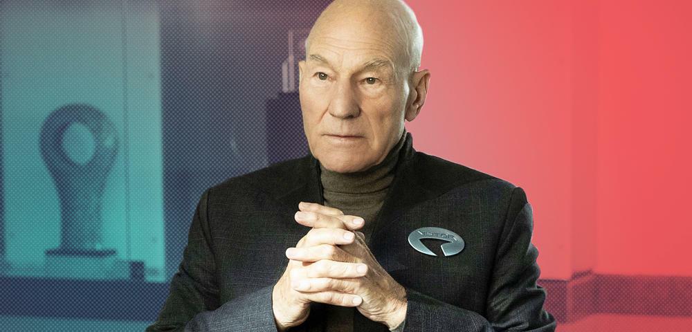 Star Trek: Picard - Patrick Stewart warnt die Fans vor Schock