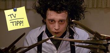 Bild zu:  Johnny Depp inEdward mit den Scherenhänden