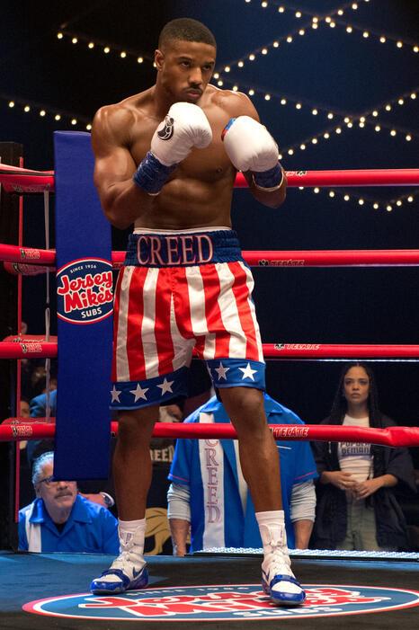 Creed II mit Michael B. Jordan