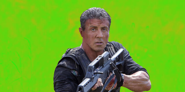 Sylvester Stallone in The Expandables 3
