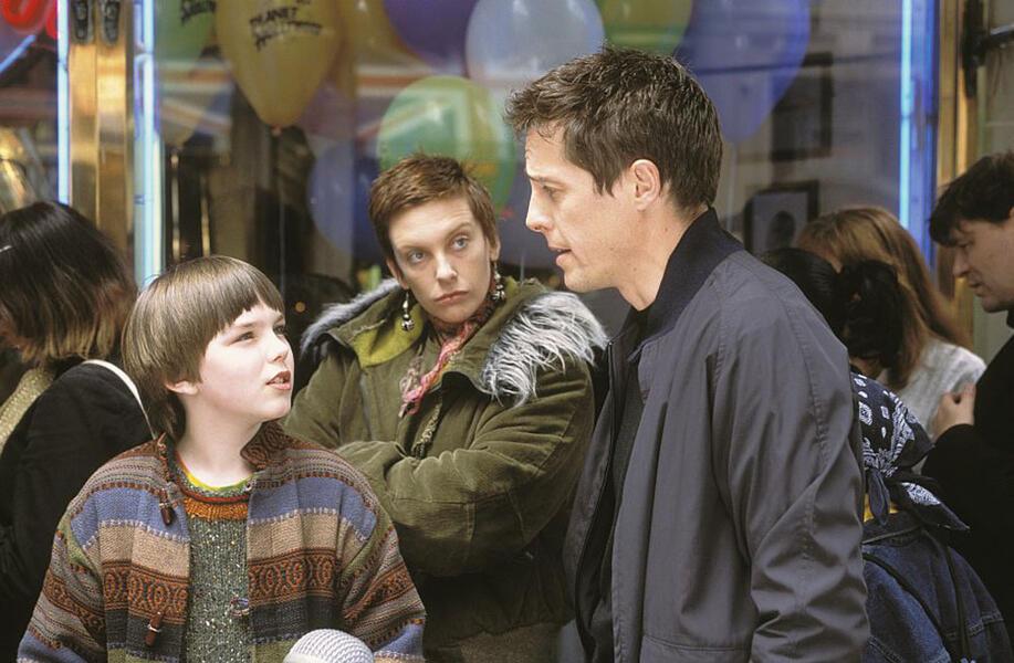 About a Boy oder: Der Tag der toten Ente mit Hugh Grant, Nicholas Hoult und Toni Collette