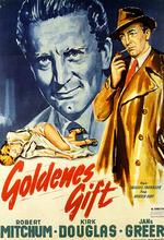 Goldenes Gift Poster