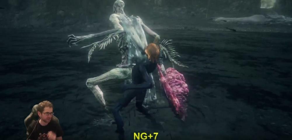 Bloodborne-Spieler besiegt finalen DLC-Boss ohne Rüstung im NG+7