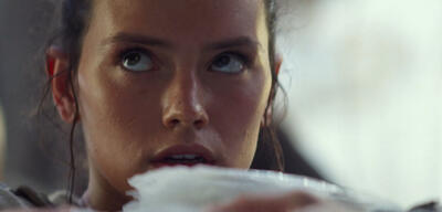 Daisy Ridley in Star Wars Episode 7