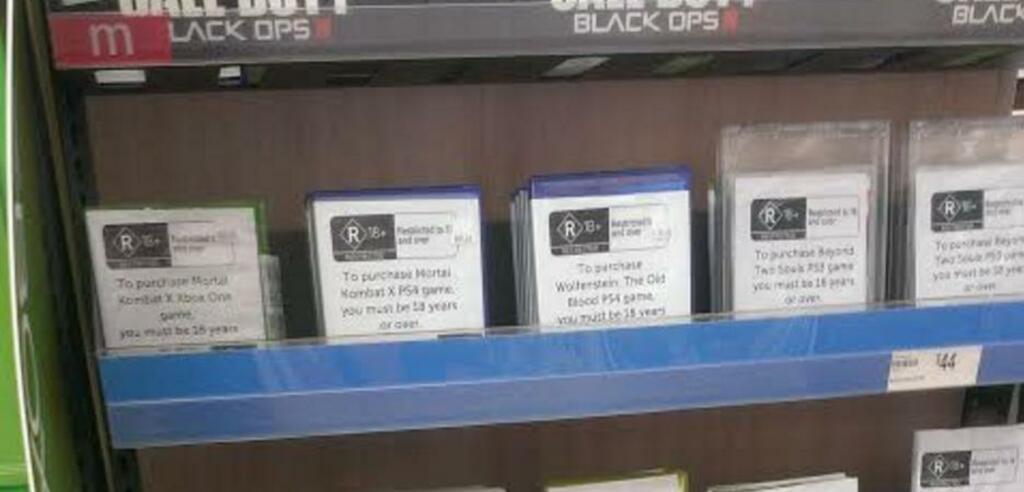 Die Spielecover bei Target