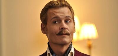 Johnny Depp in Mortdecai