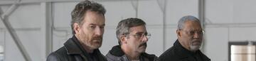 Bryan Cranston, Steve Carell und Laurence Fishburne in Last Flag Flying