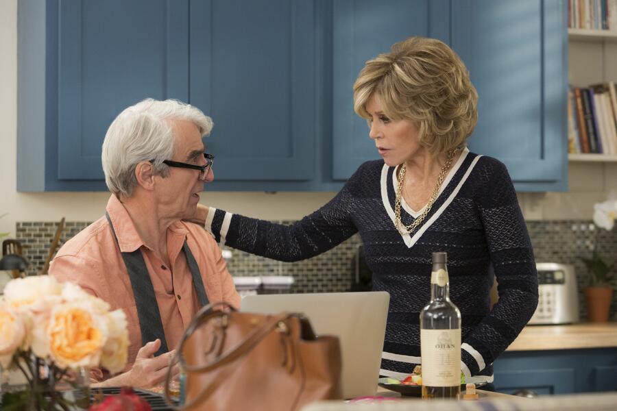 Staffel 2 mit Jane Fonda und Sam Waterston