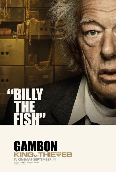King of Thieves mit Michael Gambon