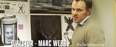 Regisseur Marc Webb zeigt Concept-Art zu Sinister Six