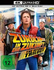 Zurück in die Zukunft als 4K-Blu-ray