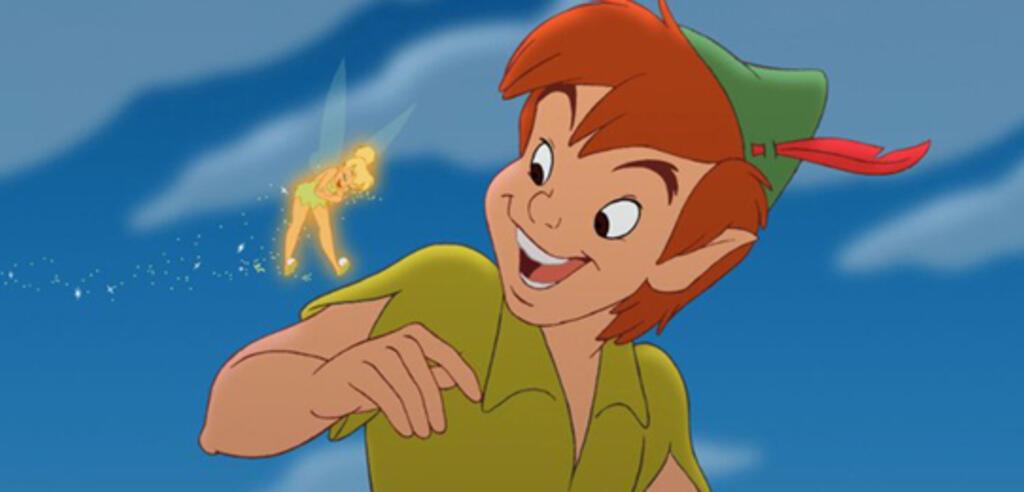 Peter Pan in der Disney-Version