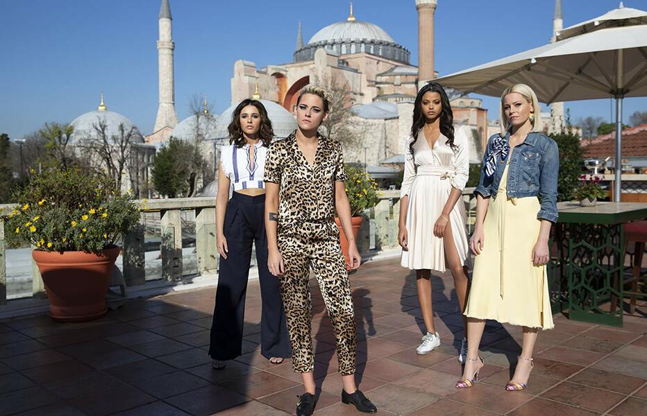 3 Engel für Charlie mit Kristen Stewart, Elizabeth Banks, Naomi Scott und Ella Balinska