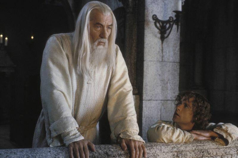 Der Herr der Ringe: Die Rückkehr des Königs mit Ian McKellen und Billy Boyd