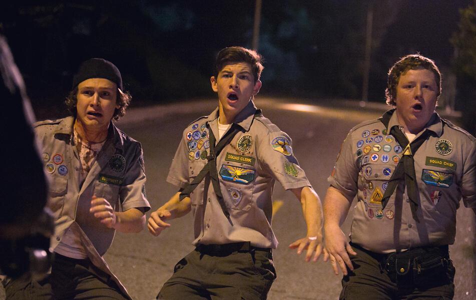 Scouts vs. Zombies - Handbuch zur Zombie-Apokalypse mit Tye Sheridan, Logan Miller und Joey Morgan