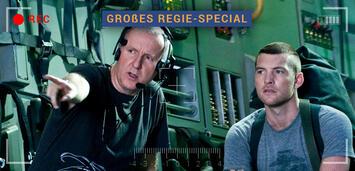 Bild zu:  James Cameron bei Dreharbeiten zu Avator
