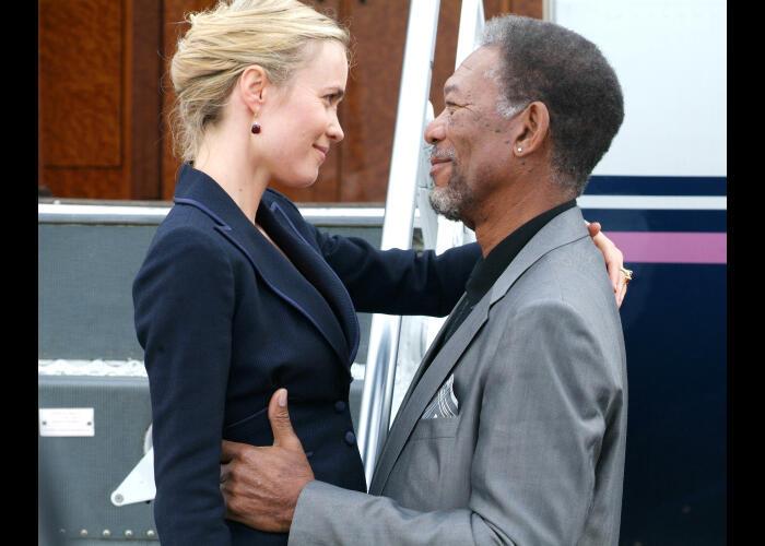 The Code - Vertraue keinem Dieb mit Morgan Freeman und Radha Mitchell