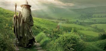 Bild zu:  Der graue Pilger besucht das Auenland, und hat eine Menge Neuigkeiten mitgebracht...