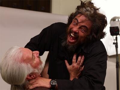 The Wolfman mit Benicio Del Toro