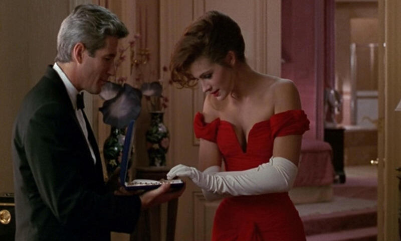 Pretty Woman mit Julia Roberts und Richard Gere
