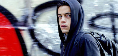 Rami Malek in der Hacker-Serie Mr. Robot