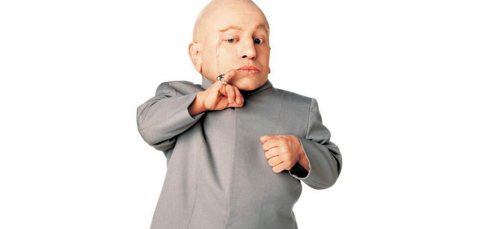 Verne Troyer als Mini-Me in Austin Powers
