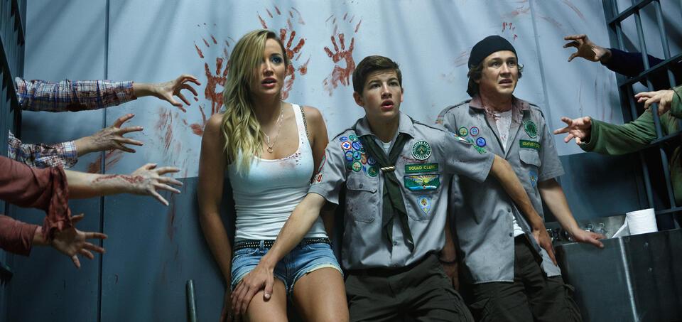 Scouts vs. Zombies - Handbuch zur Zombie-Apokalypse mit Tye Sheridan und Logan Miller