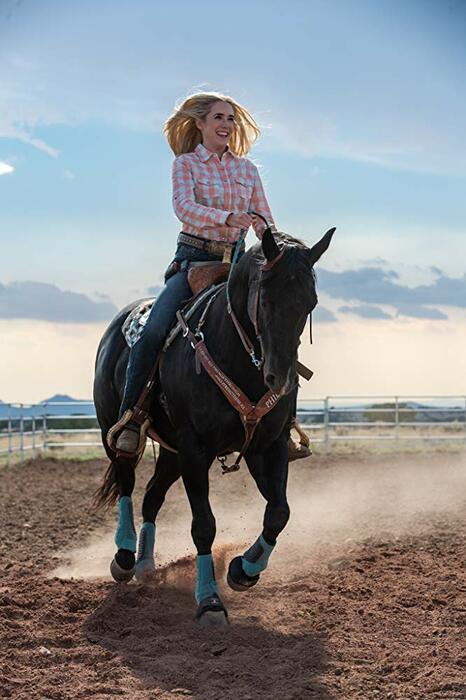 Laufen. Reiten. Rodeo