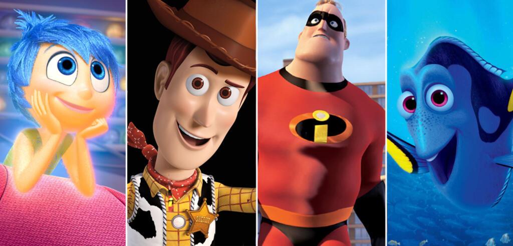 Findet Dorie, Die Unglaublichen, Toy Story, Alles steht Kopf